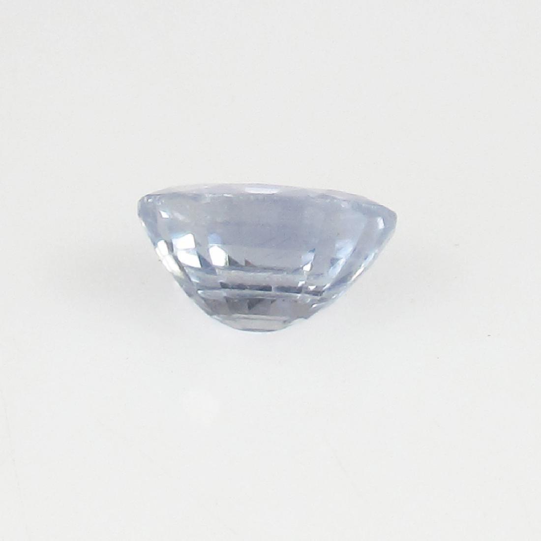 IGI Certified 0.86 Ct Genuine Unheated Sri Lankan Blue - 6