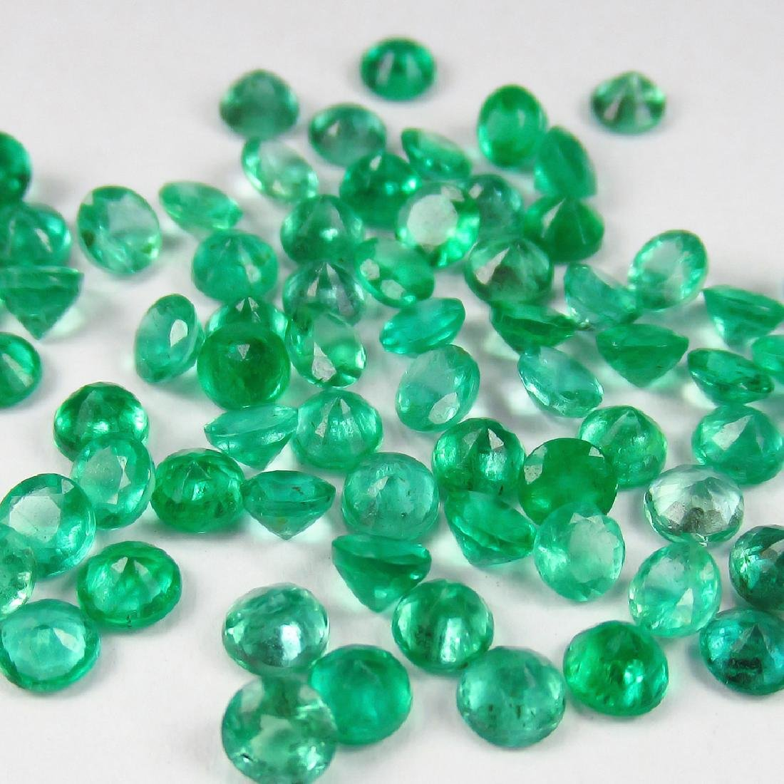 "10.15 Ct Genuine 75 Loose Emerald Calibrate ""Diamond - 2"