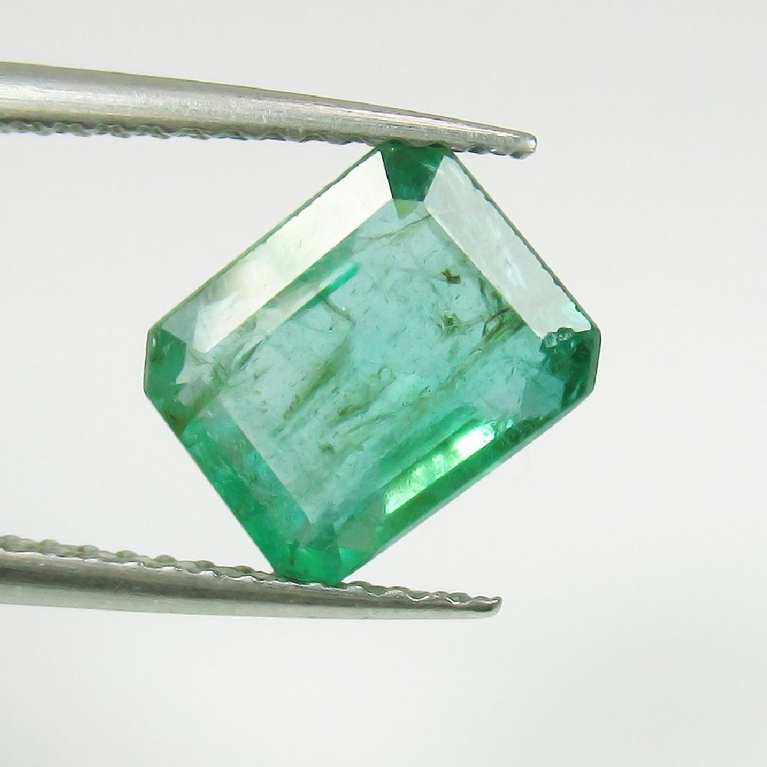 2.20 Ct Genuine Loose Zambian Emerald Octagon Stone