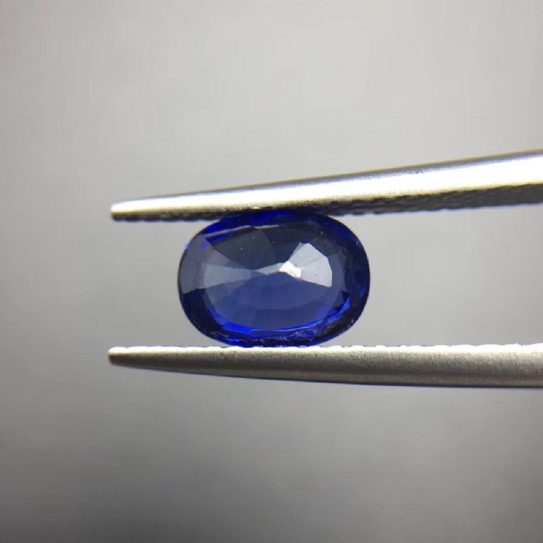 1.45 ct Sapphire 5.5*7.4*3.5 mm Oval Cut - 4