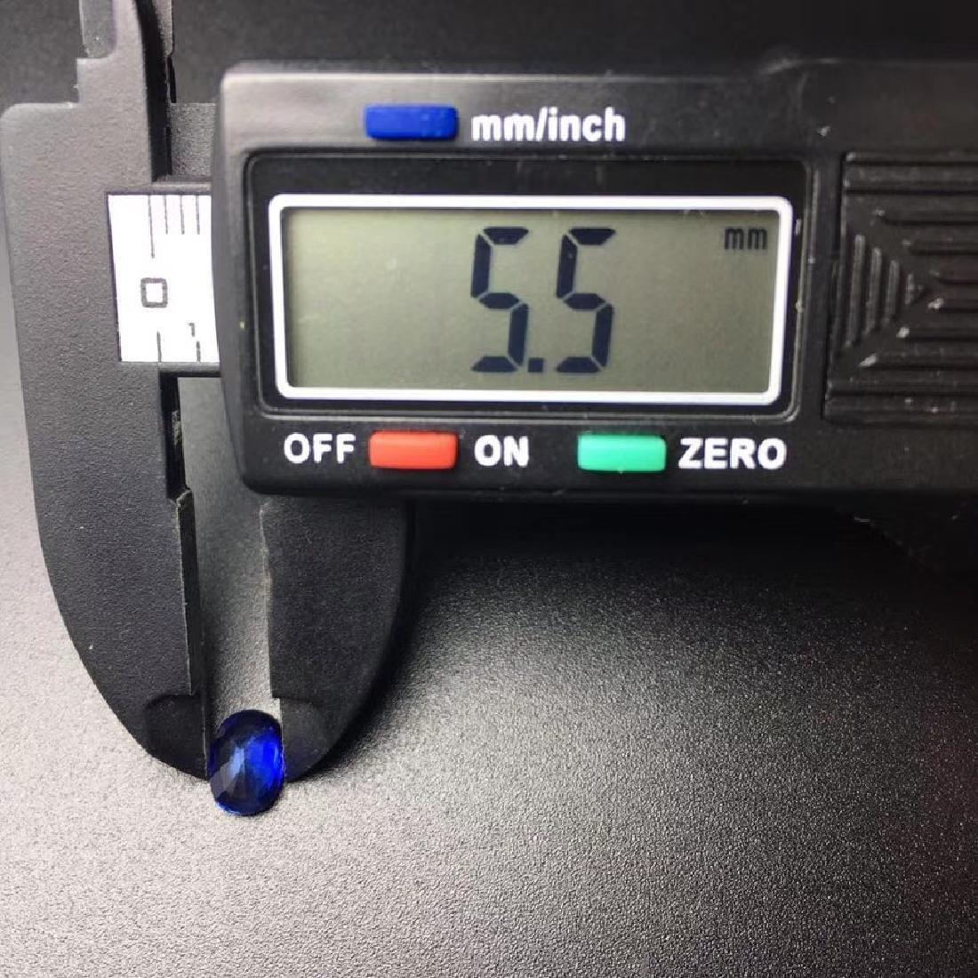 1.45 ct Sapphire 5.5*7.4*3.5 mm Oval Cut - 5