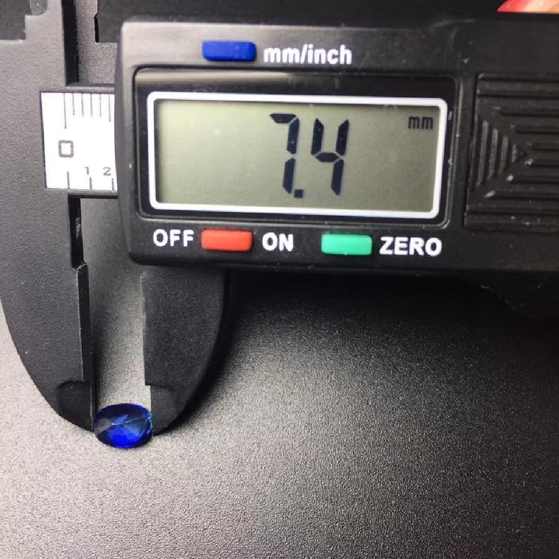 1.45 ct Sapphire 5.5*7.4*3.5 mm Oval Cut - 6