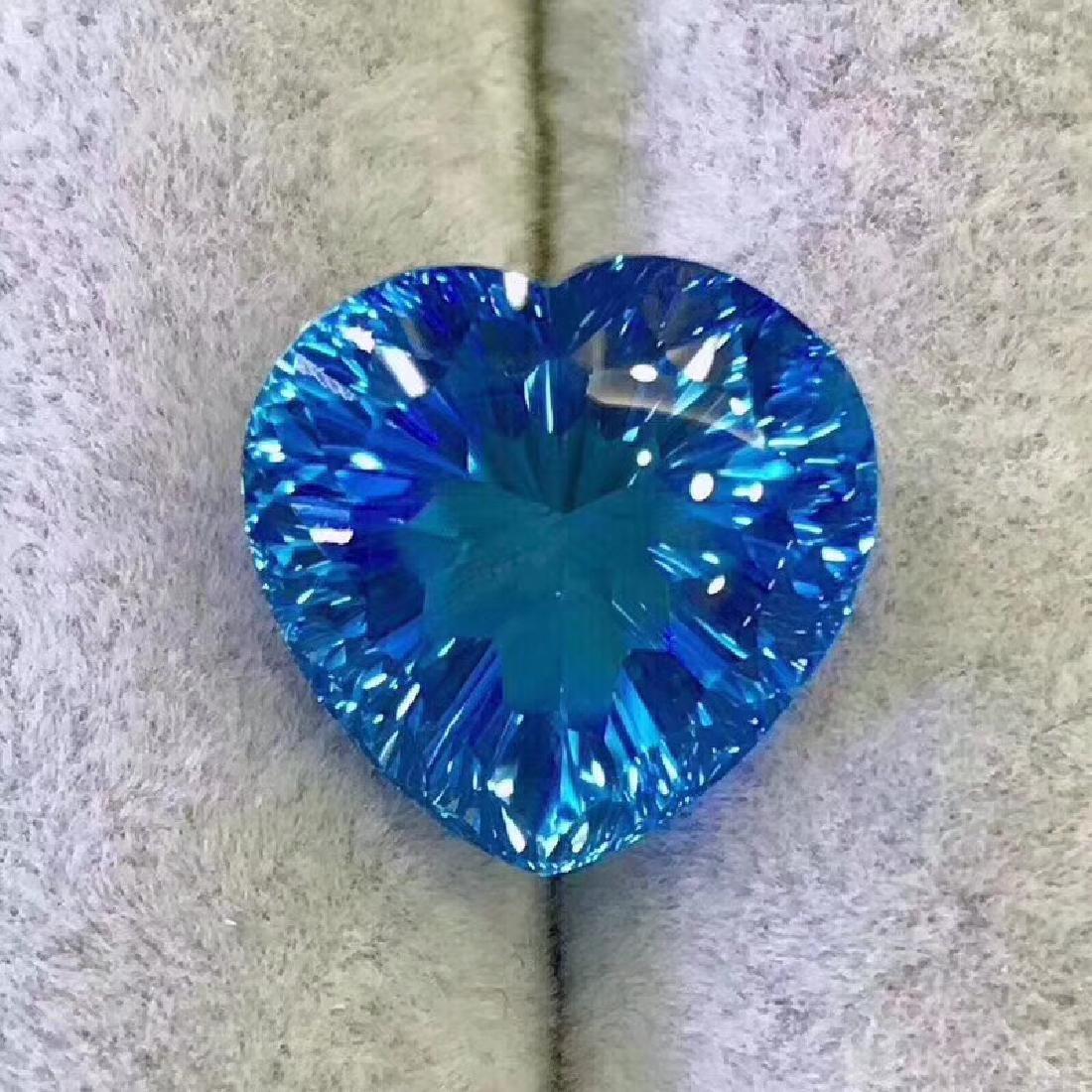 24.8 ct Topaz 17.0*16.5 mm Heart Cut