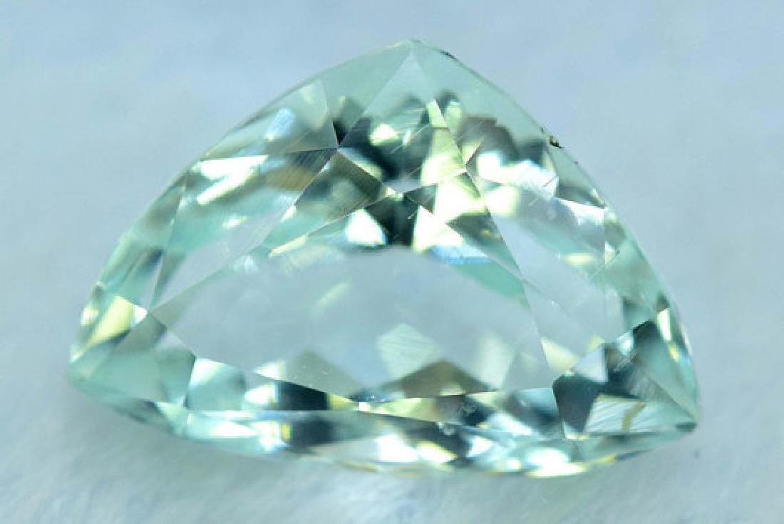 5.65 cts Untreated Aquamarine Gemstone from Pakistan - 2