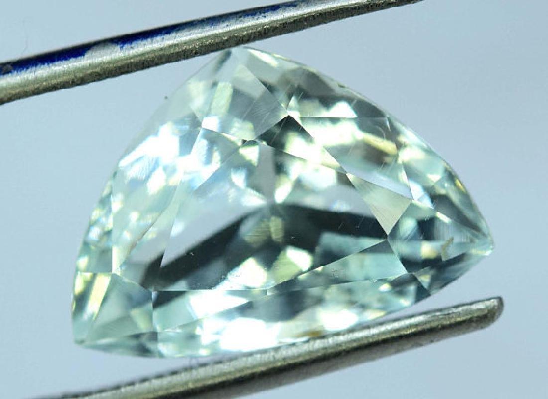 5.65 cts Untreated Aquamarine Gemstone from Pakistan - 3