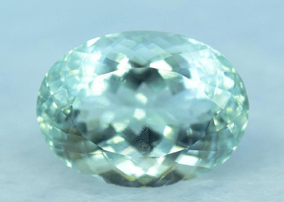 11.90 cts Untreated Aquamarine Gemstone from Pakistan