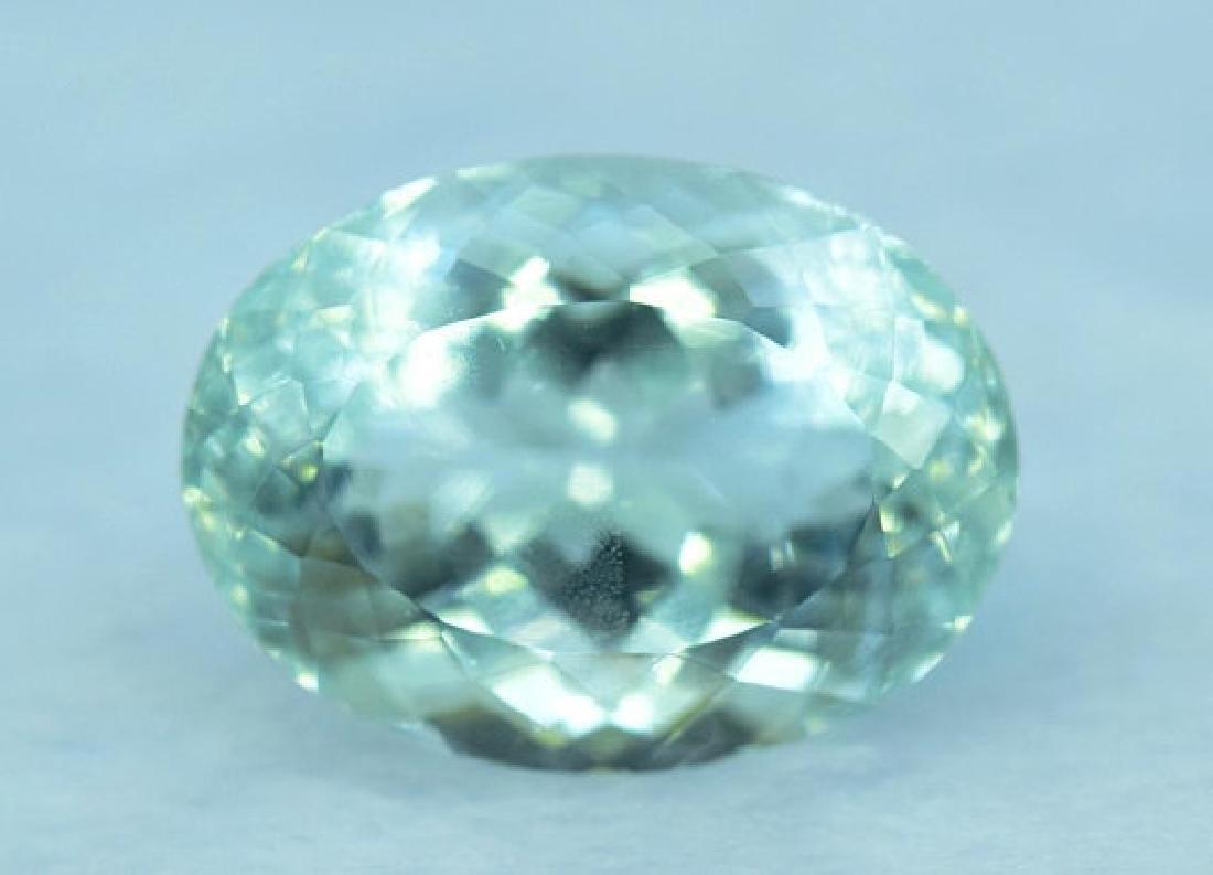 11.90 cts Untreated Aquamarine Gemstone from Pakistan - 2
