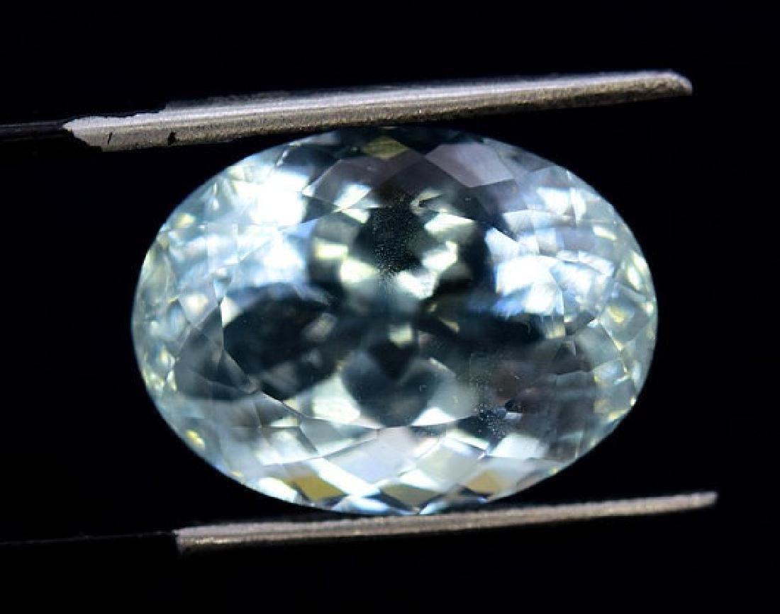 11.90 cts Untreated Aquamarine Gemstone from Pakistan - 3