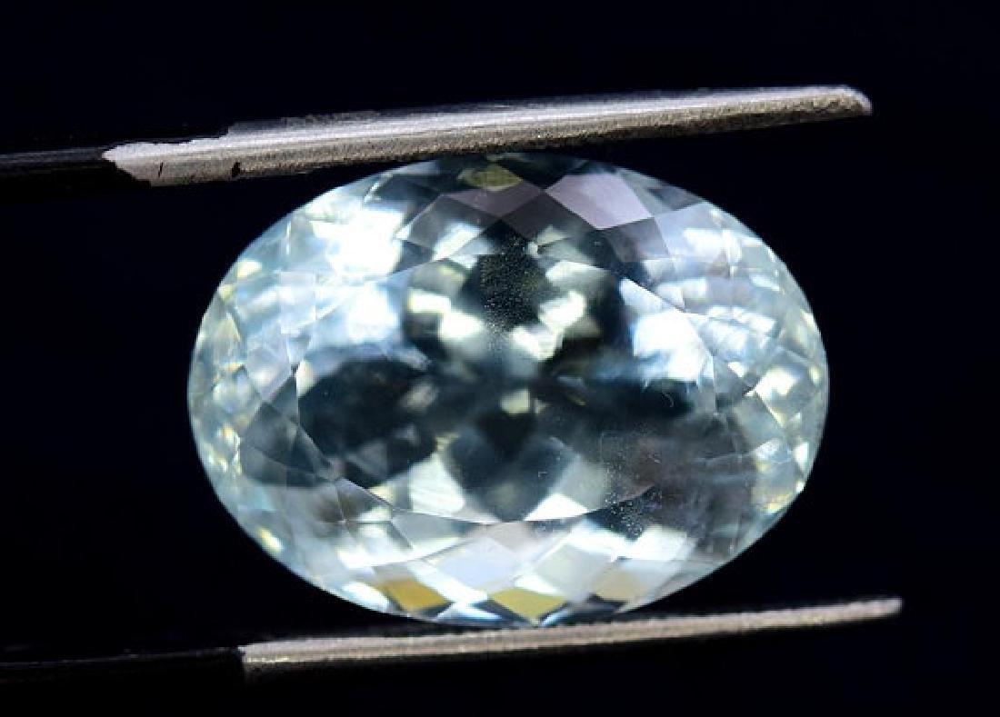 11.90 cts Untreated Aquamarine Gemstone from Pakistan - 4