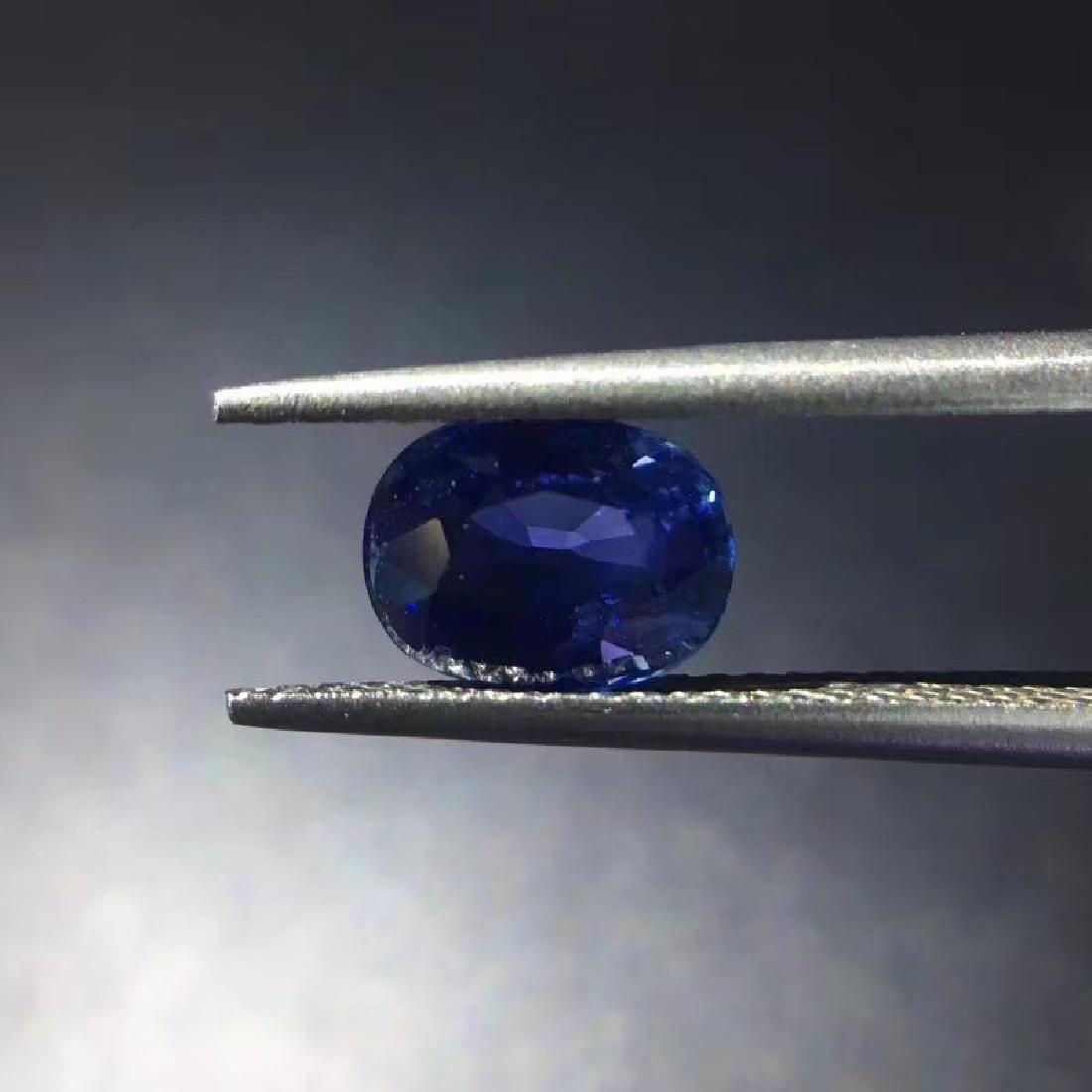 1.43 ct Sapphire 5.8*7.6*3.4 mm Oval Cut