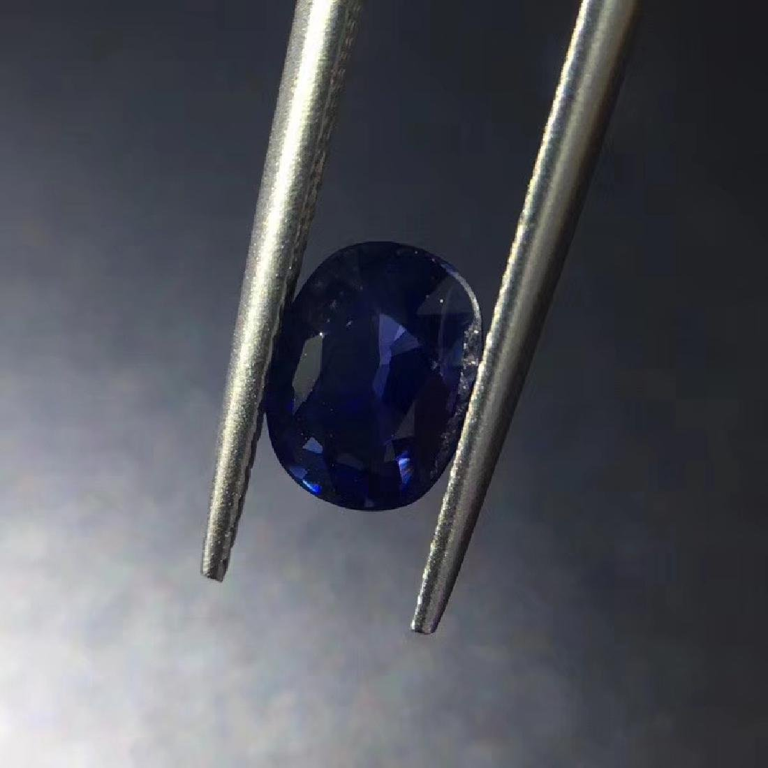1.43 ct Sapphire 5.8*7.6*3.4 mm Oval Cut - 4