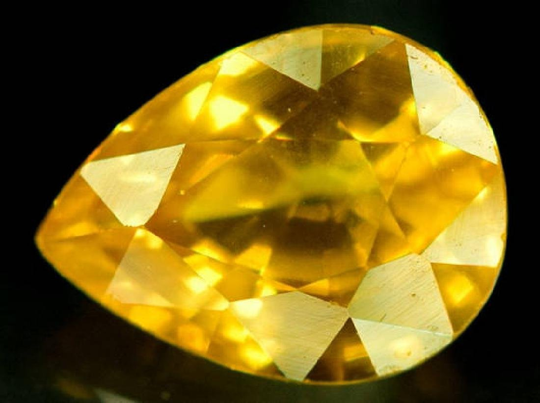 0.85 carats Very Beautiful Yellow Sapphire Loose