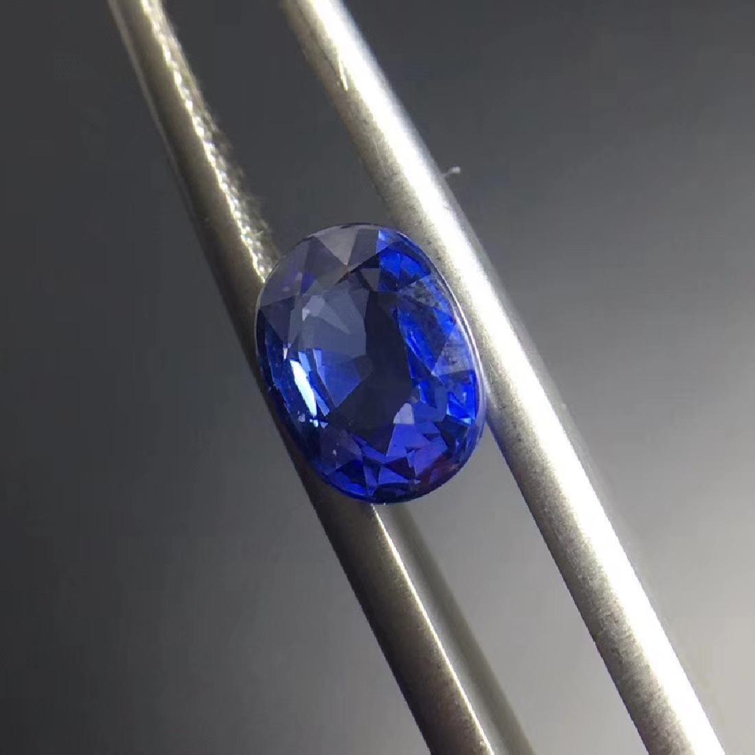 1.52 ct Sapphire 5.7*7.5*3.4 mm Oval Cut - 2