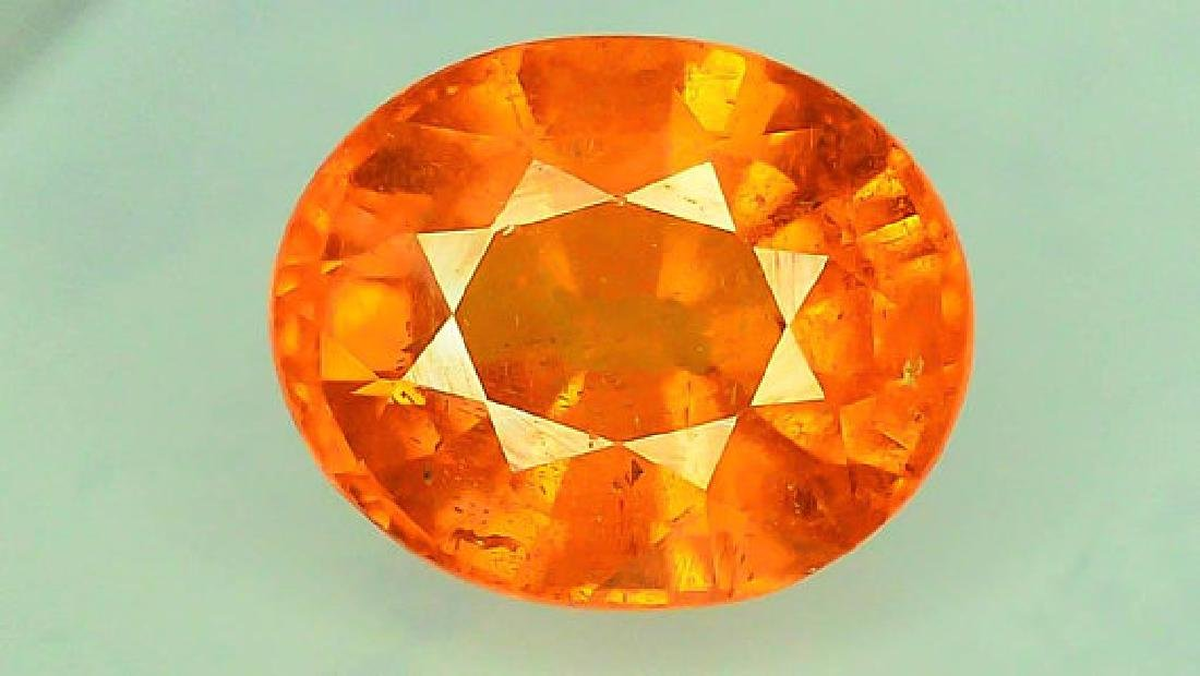 2.65 ct Fanta Color Natural Spessartite Garnet Gemstone