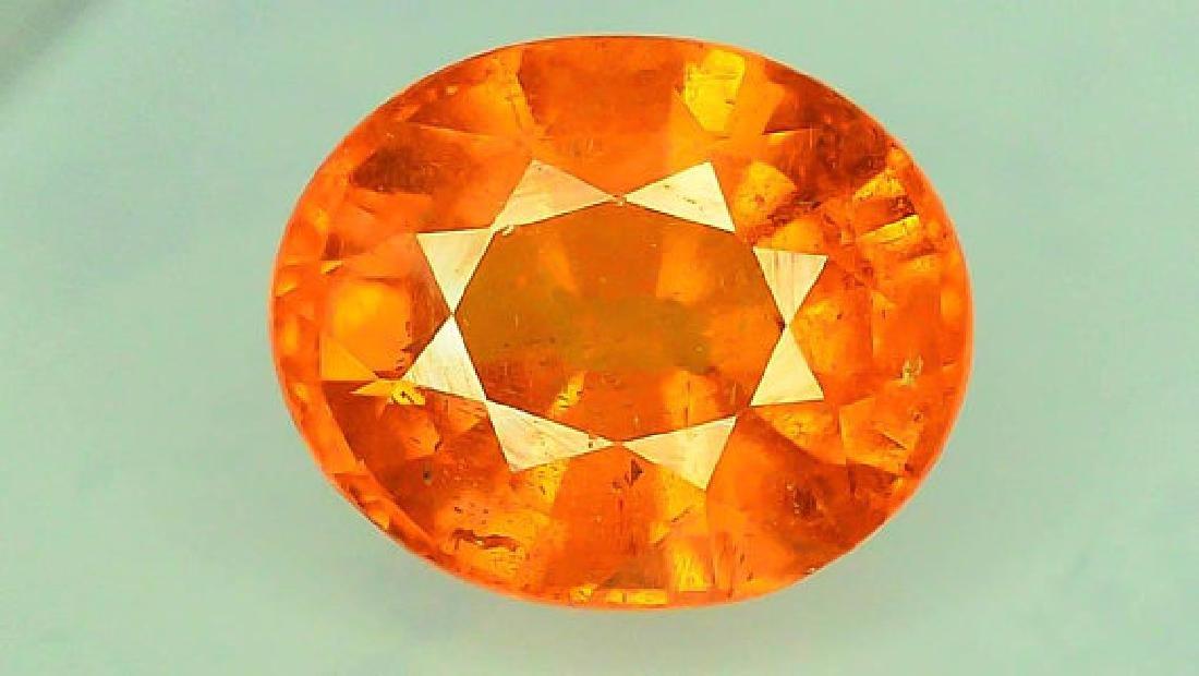 2.65 ct Fanta Color Natural Spessartite Garnet Gemstone