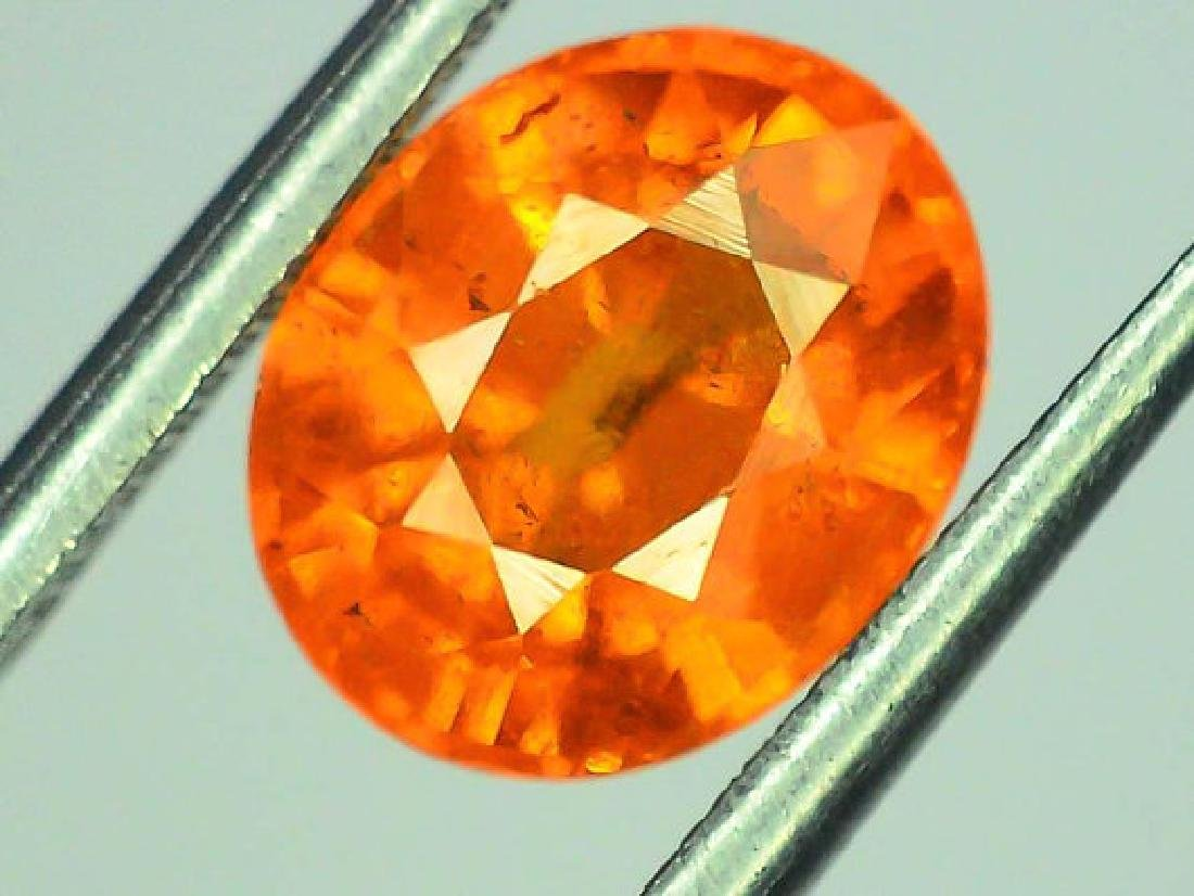 2.65 ct Fanta Color Natural Spessartite Garnet Gemstone - 2