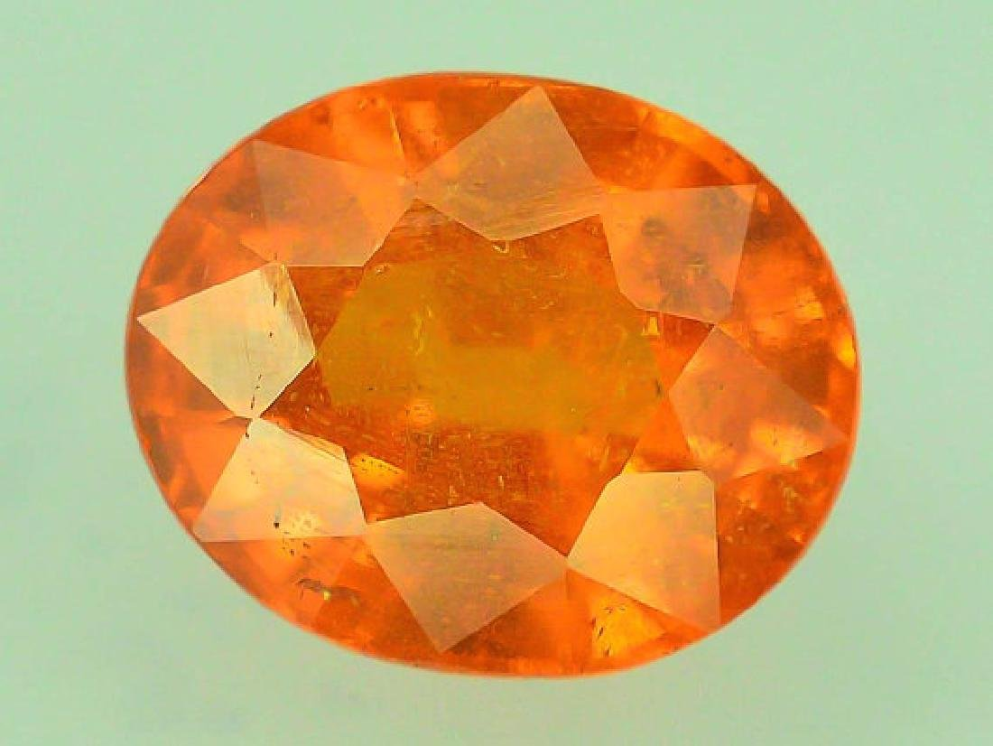 2.65 ct Fanta Color Natural Spessartite Garnet Gemstone - 3