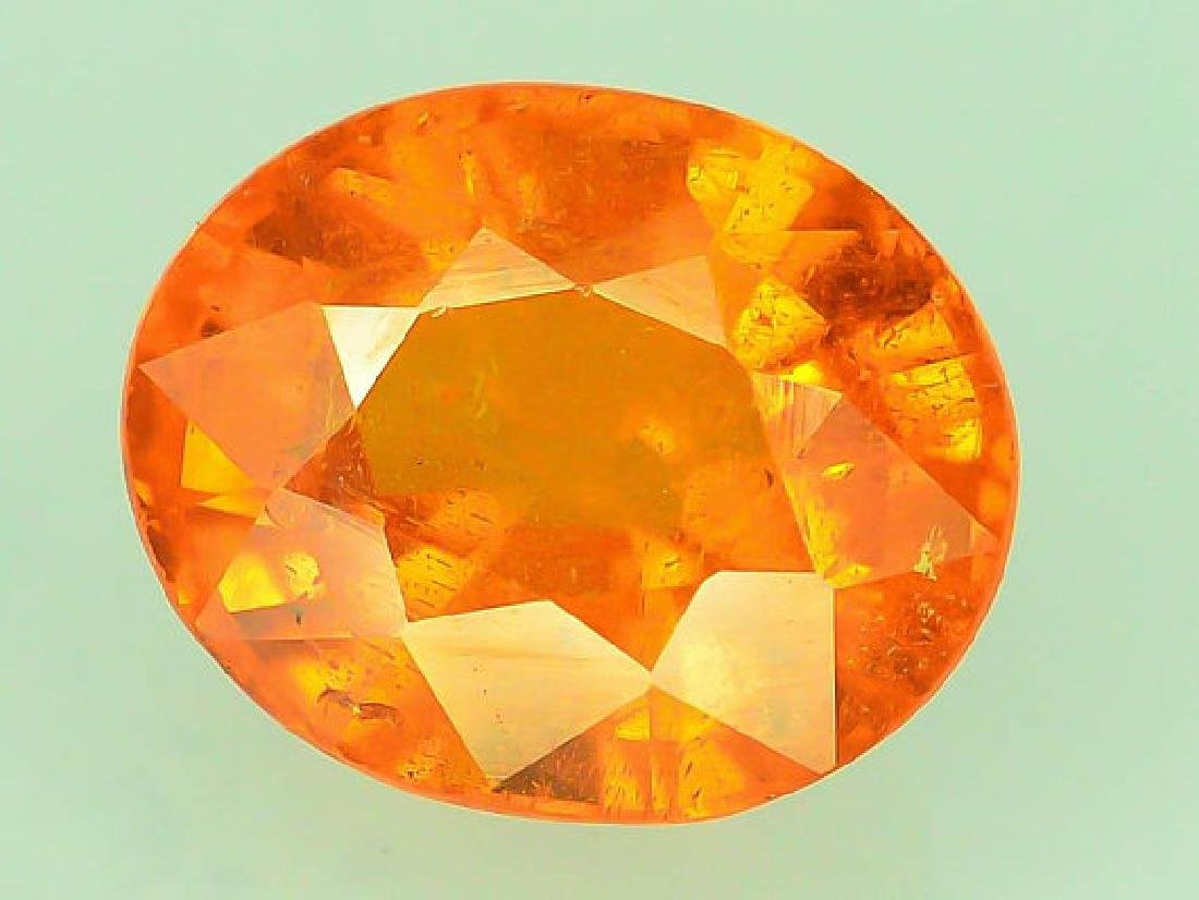 2.65 ct Fanta Color Natural Spessartite Garnet Gemstone - 5