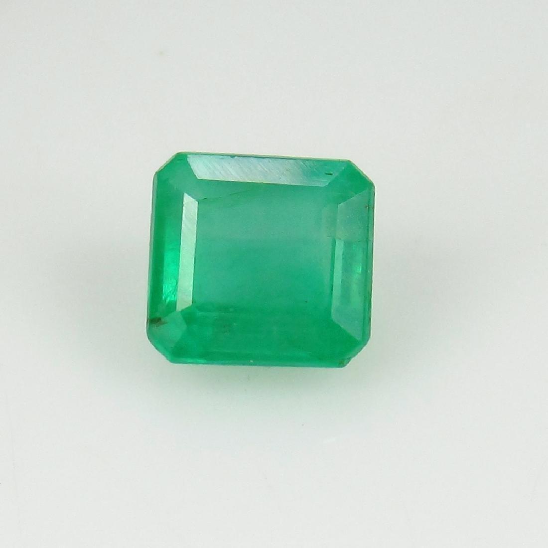 1.56 Ct IGI Certified Genuine Zambian Emerald Excellent