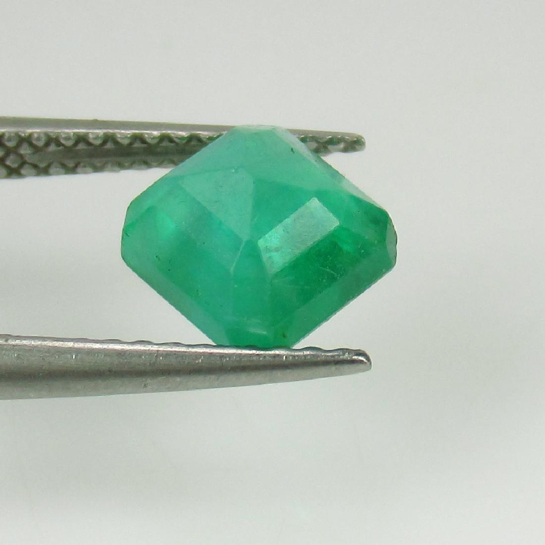 1.56 Ct IGI Certified Genuine Zambian Emerald Excellent - 3