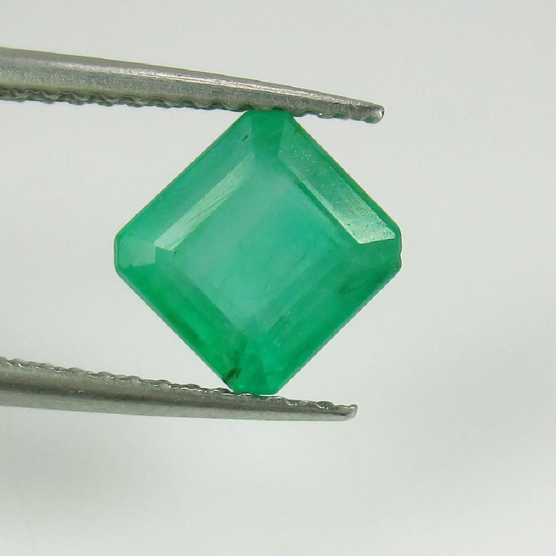 1.56 Ct IGI Certified Genuine Zambian Emerald Excellent - 4