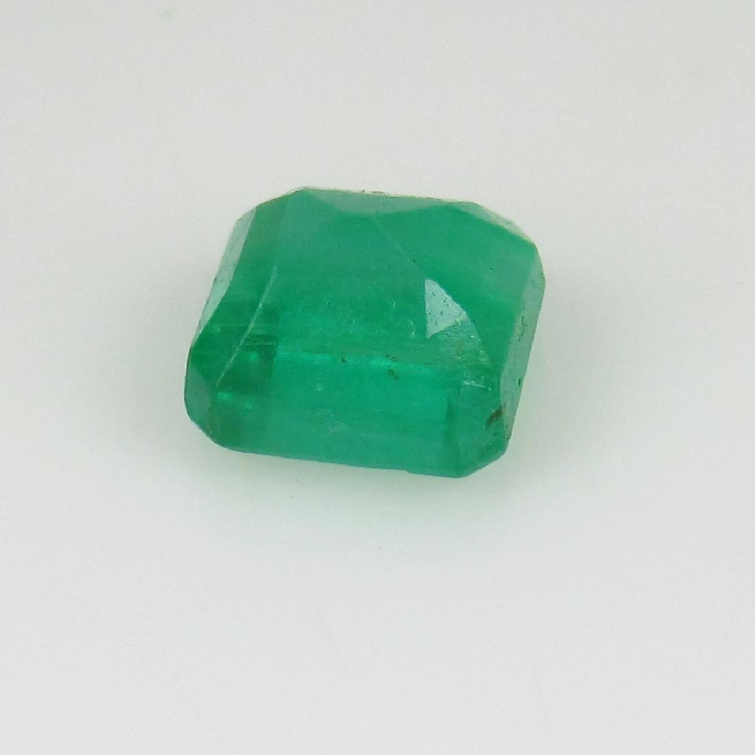 1.56 Ct IGI Certified Genuine Zambian Emerald Excellent - 5