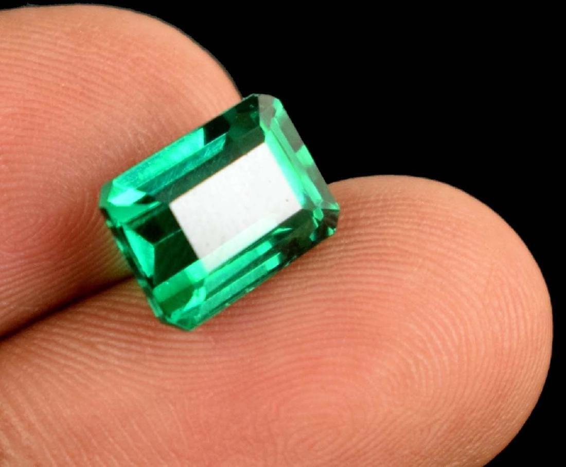 5.75 Ct Natural Untreated Green Demantoid Garnet IGL