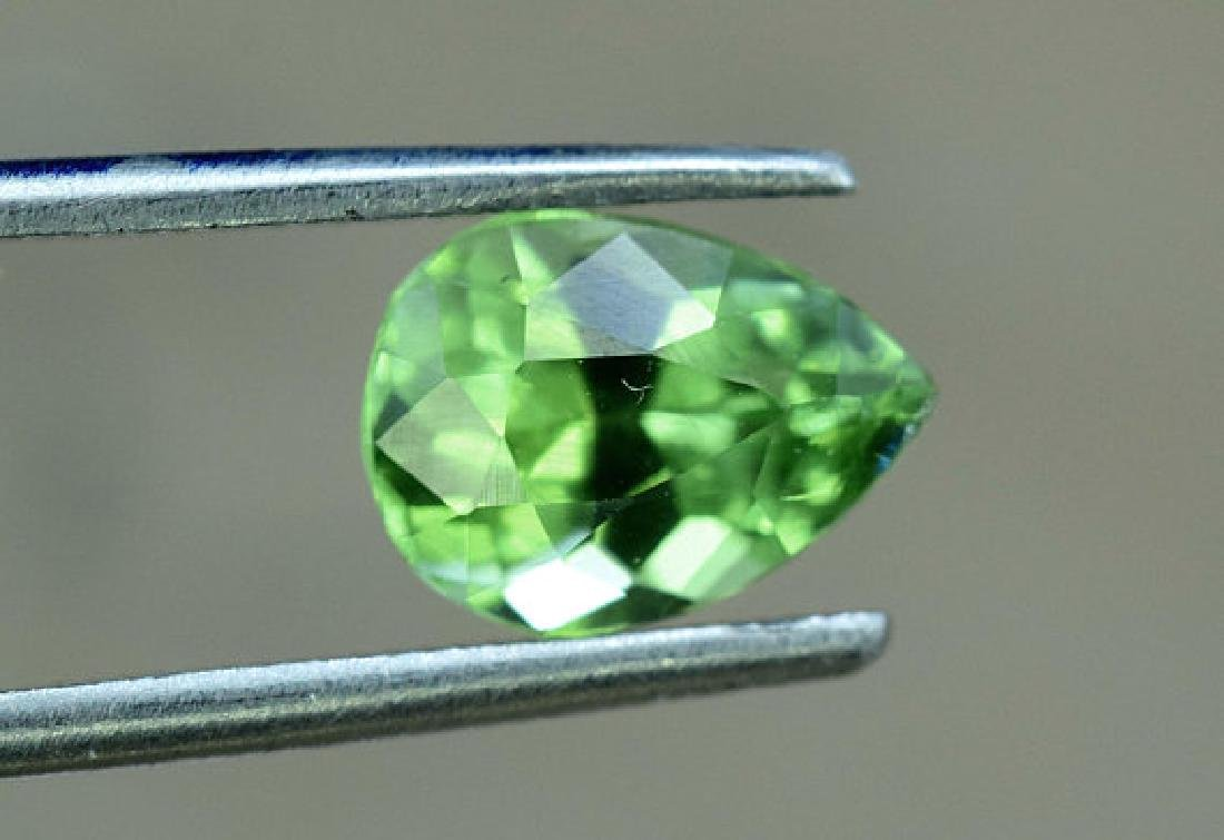 1.45 carats Untreated Green Color Tourmaline Loose - 2