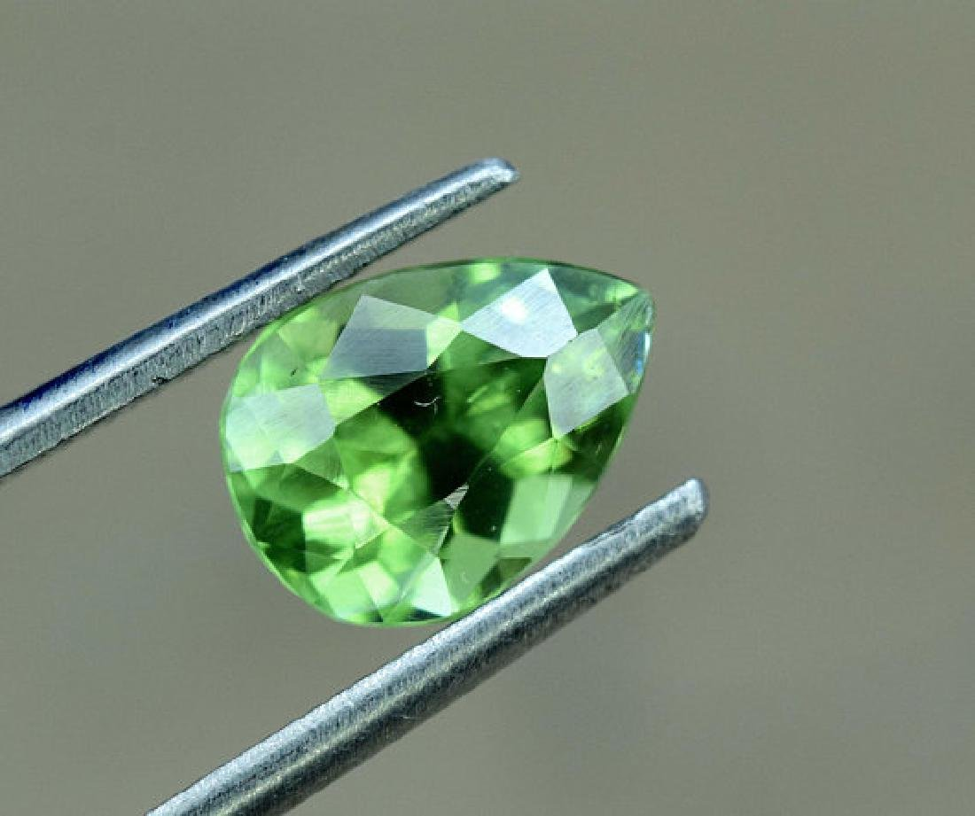 1.45 carats Untreated Green Color Tourmaline Loose - 3