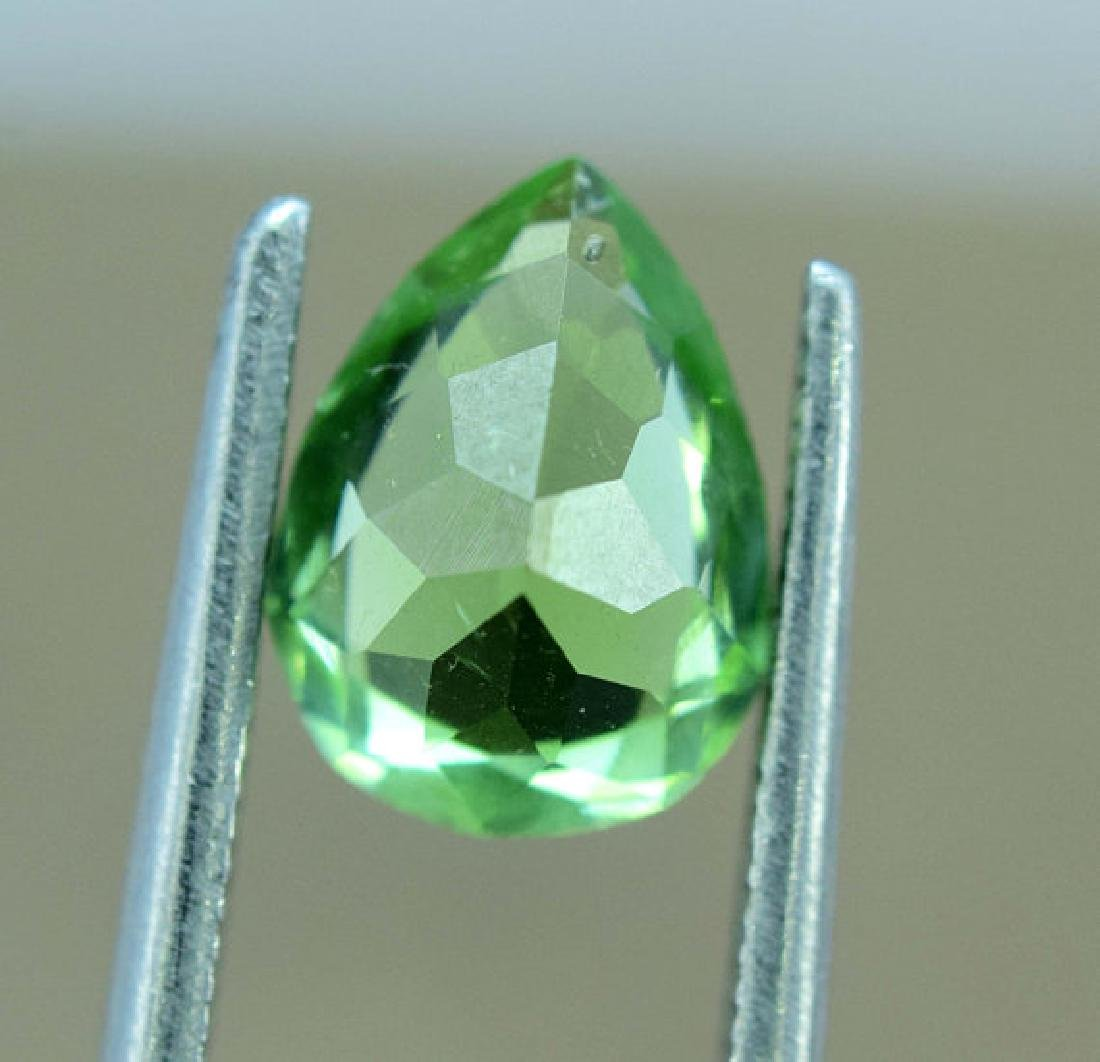 1.45 carats Untreated Green Color Tourmaline Loose - 4