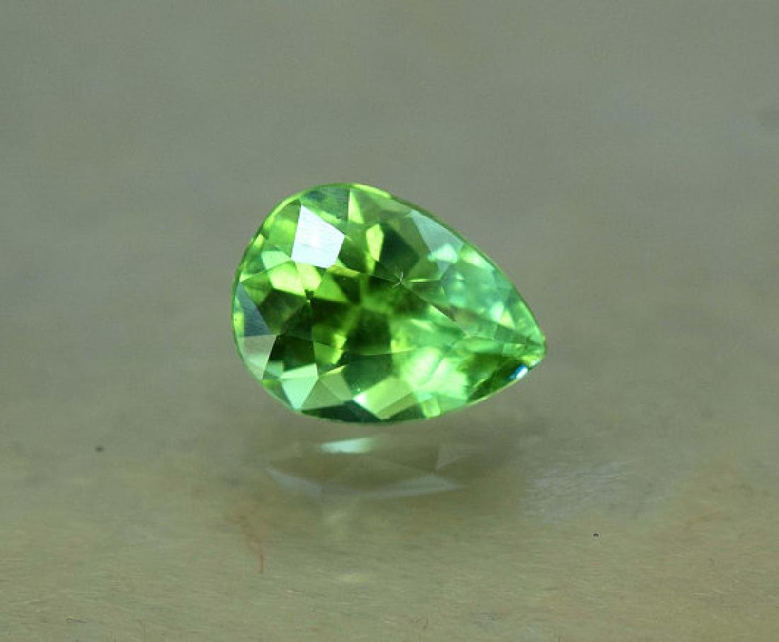 1.45 carats Untreated Green Color Tourmaline Loose - 5