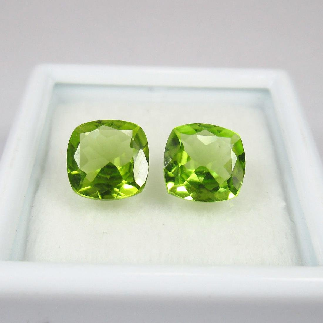 2.62 Ctw Natural Loose Cushion cut Top Luster Peridot