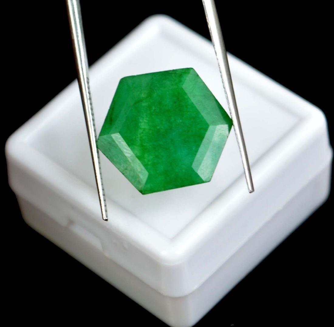 8.20 Ct Natural Emerald No Reserve IGL Certified