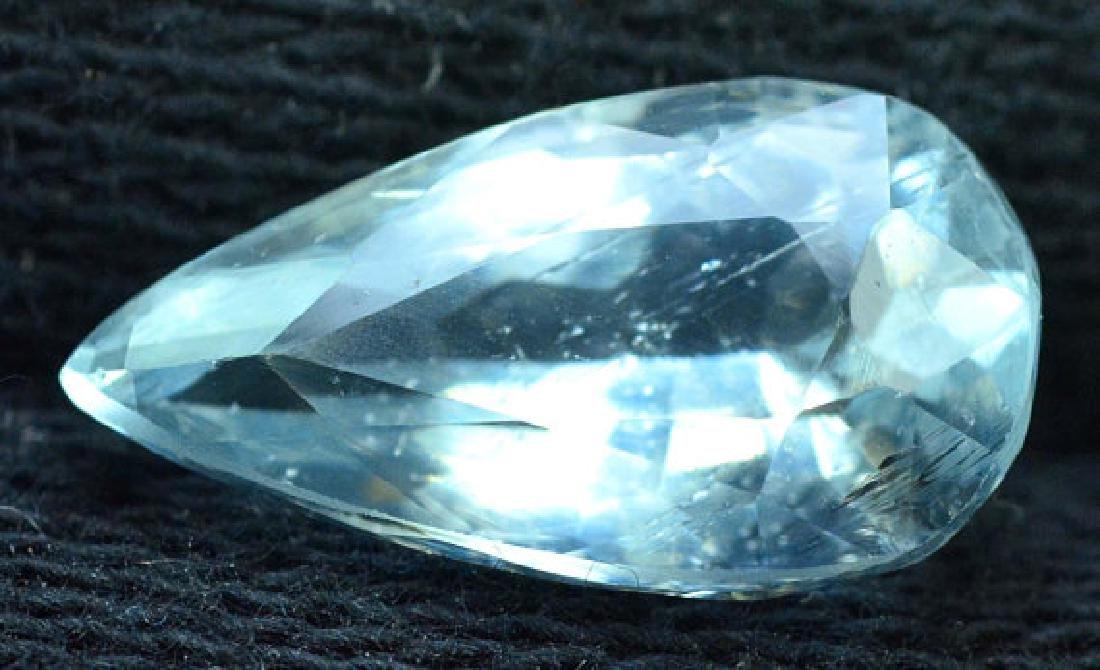 4.20 cts Untreated Aquamarine Gemstone from Pakistan - 4