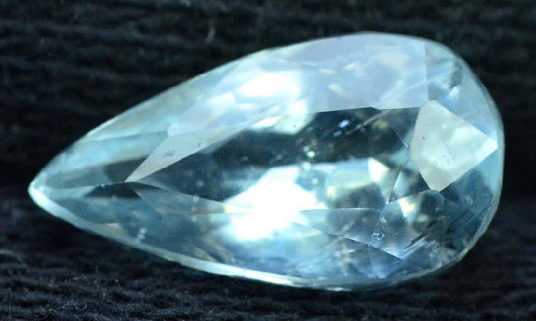 4.20 cts Untreated Aquamarine Gemstone from Pakistan - 5