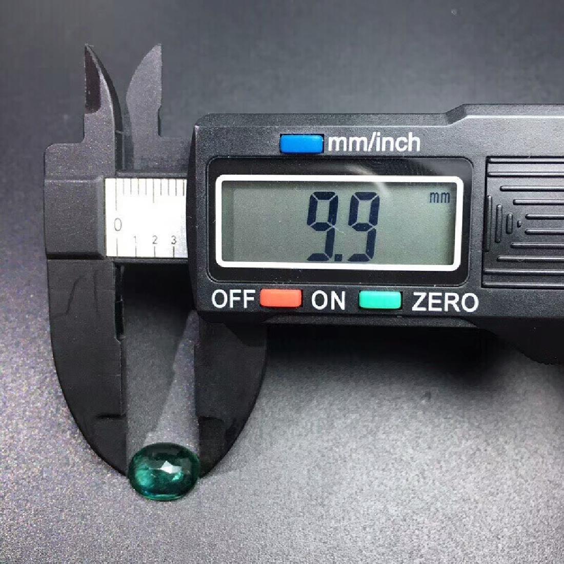 2.15ct Emerald 7.7*9.9*4.1 mm Oval Cut - 6