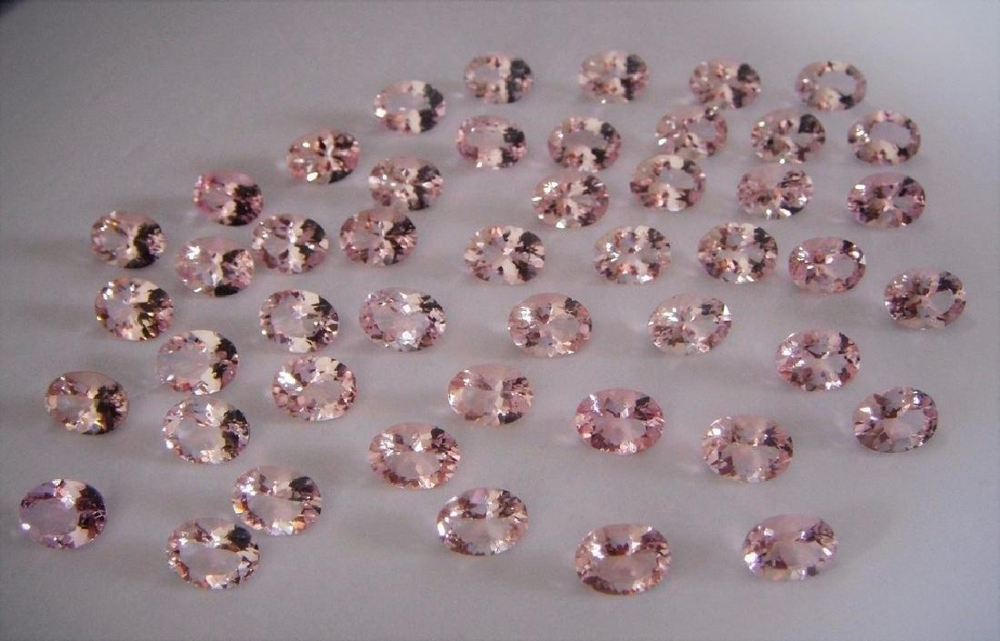 Morganite 6x8 ovals 47pcs-47.06 ct - 3