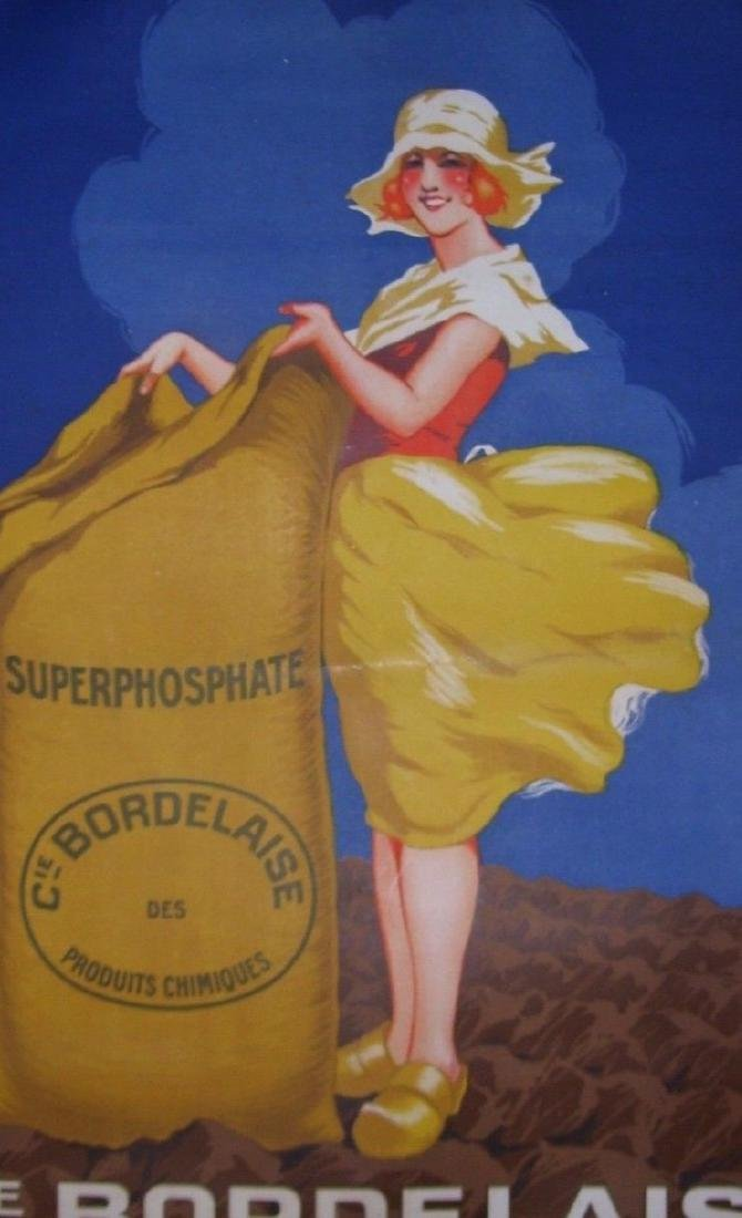 CIE Bordelaise Vintage French Art Deco Poster - 2