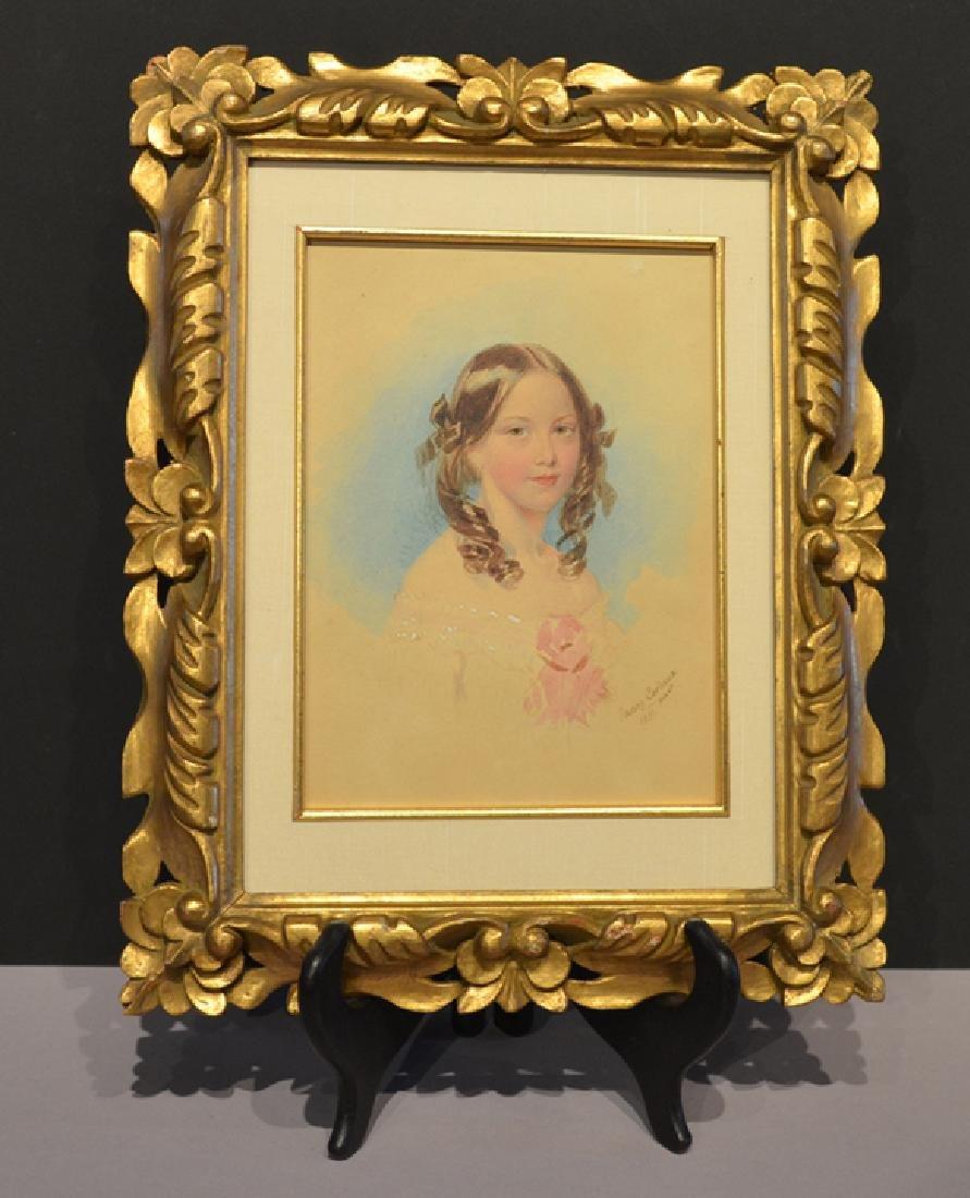 Fanny Corbaux Portrait of Lady Adelaide Horatia