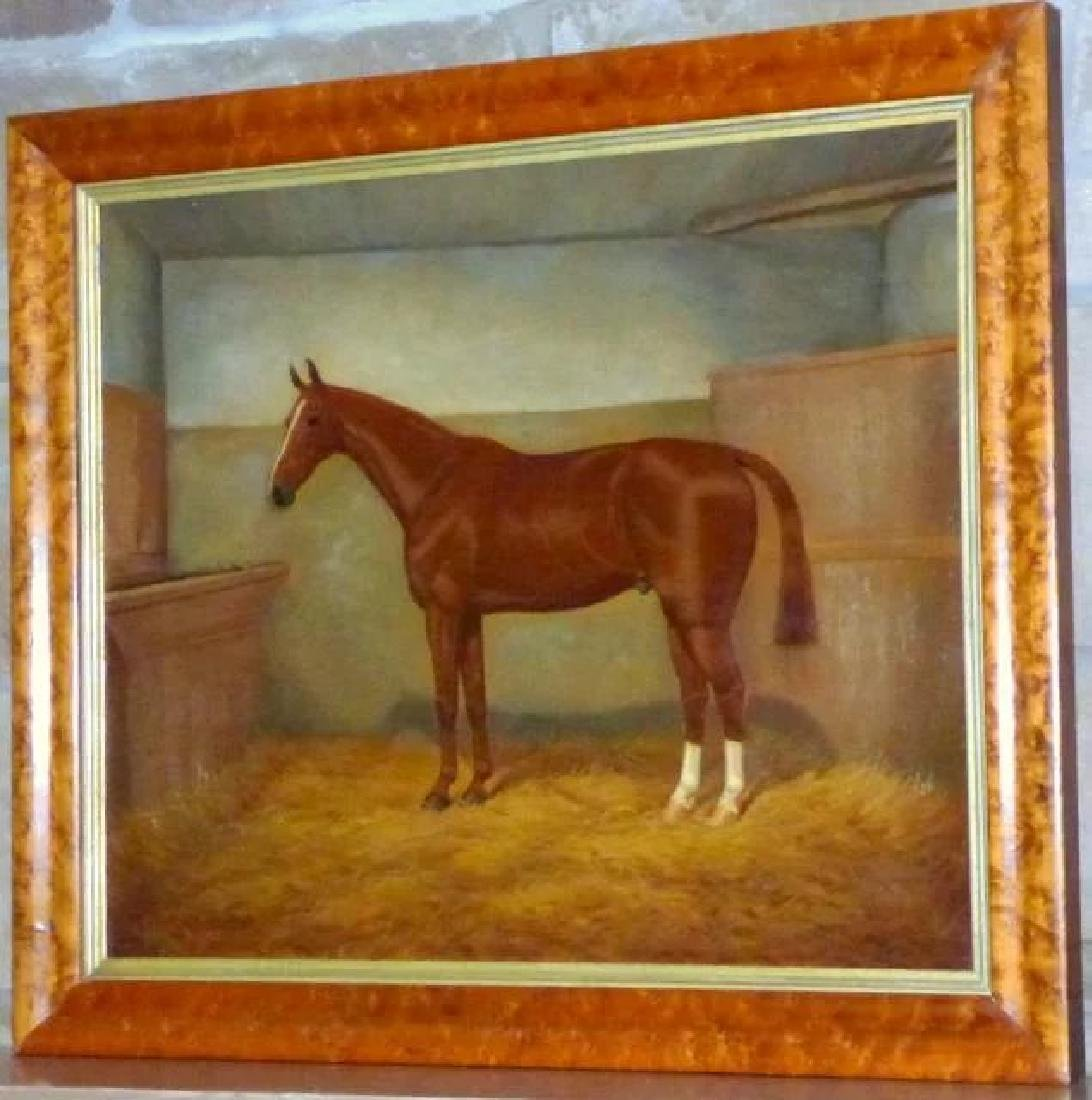 Portrait of a Horse in a Stall, by William A. Clark - 8