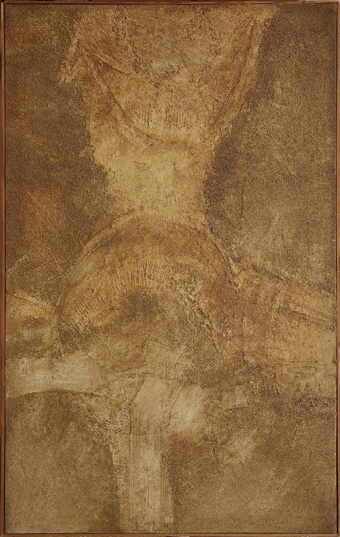 Unknown1961 abstract expressionist, Mixed media on