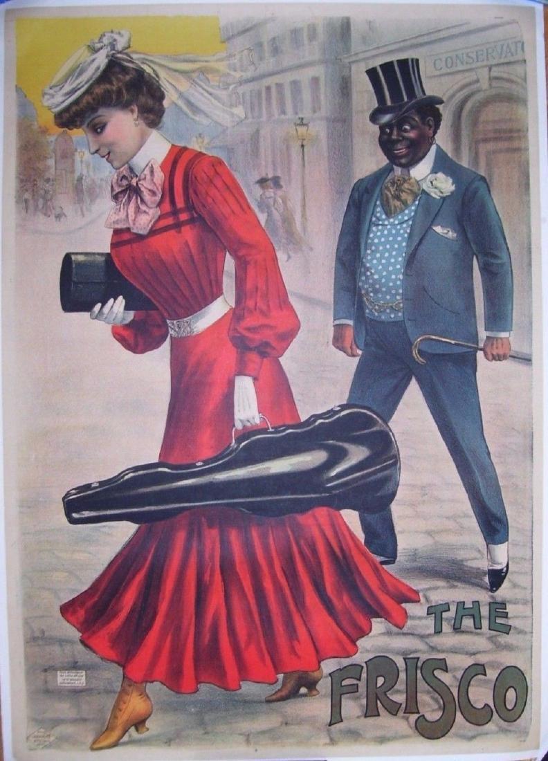 The Frisco Vintage Poster