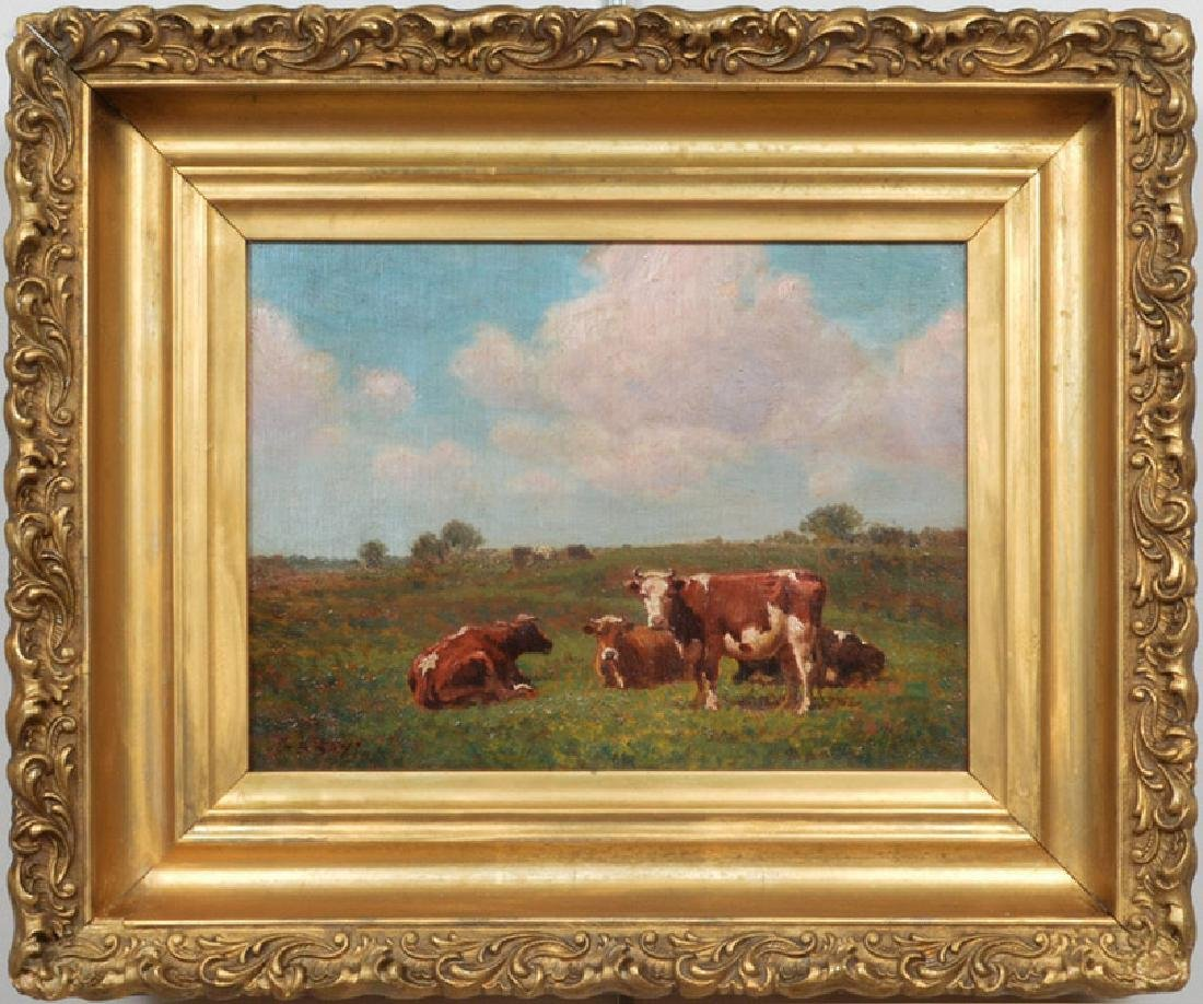 George Arthur Hays oil on canvas a Summer Day