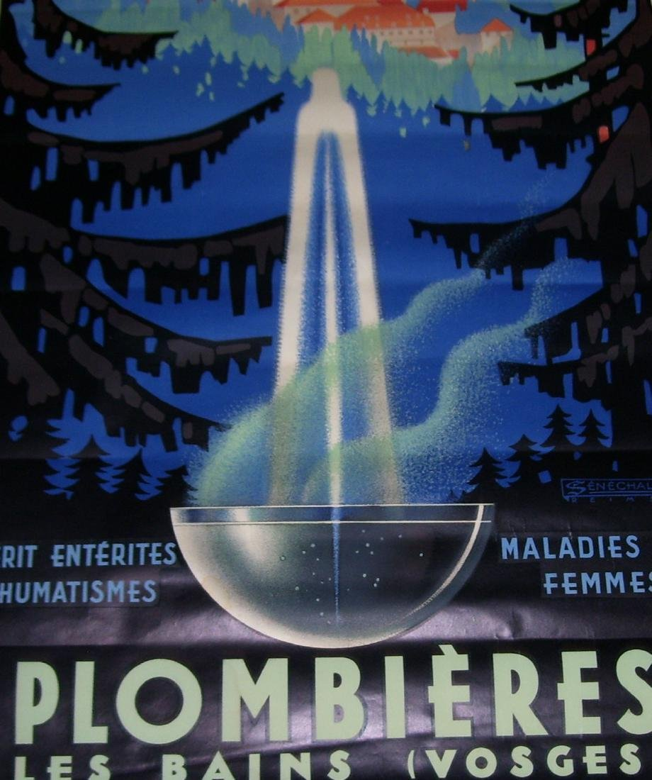 Plombieres Travel Poster - 2