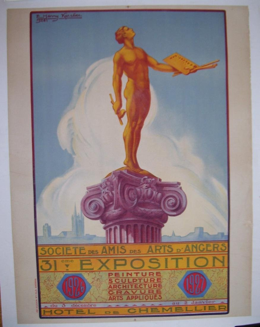 French Art Expo Poster