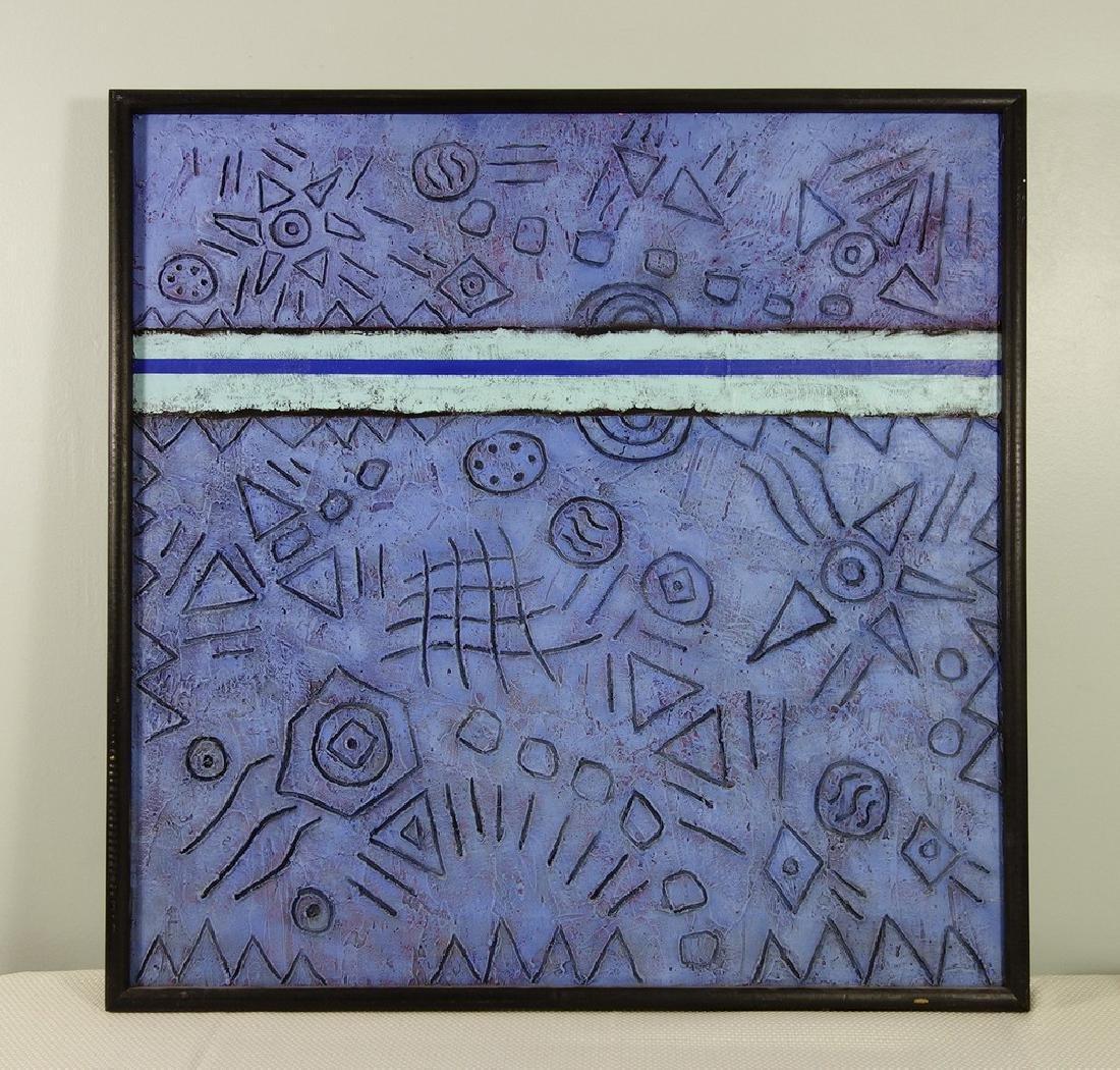 "Robert Moskowitz (American born 1935) Oil on canvas 30"""