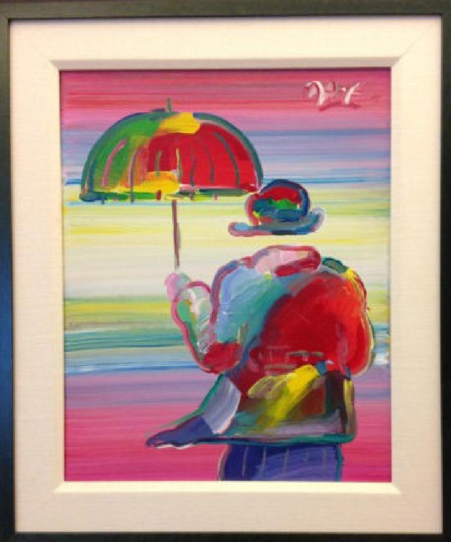 Umbrella Man by Peter Max