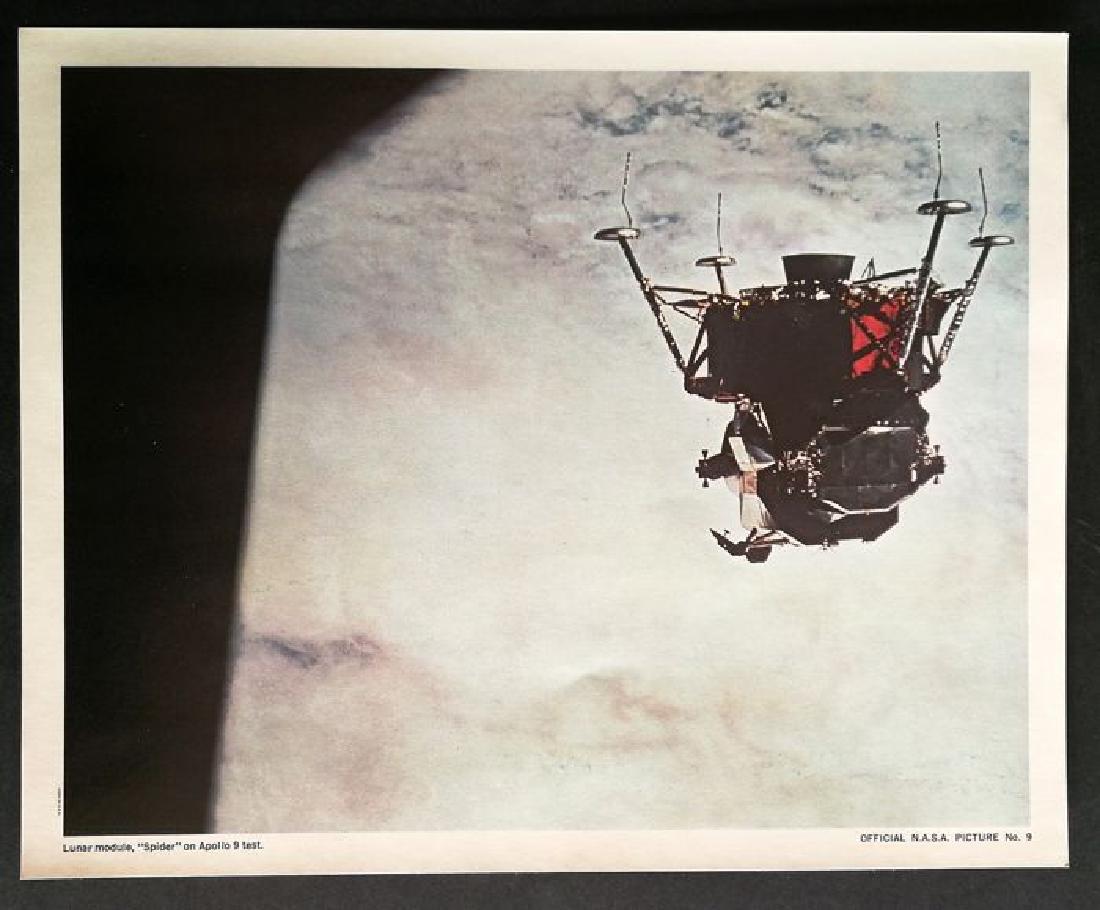6x Official NASA - Apollo 8 / Apollo 9 / Apollo 10, - 10