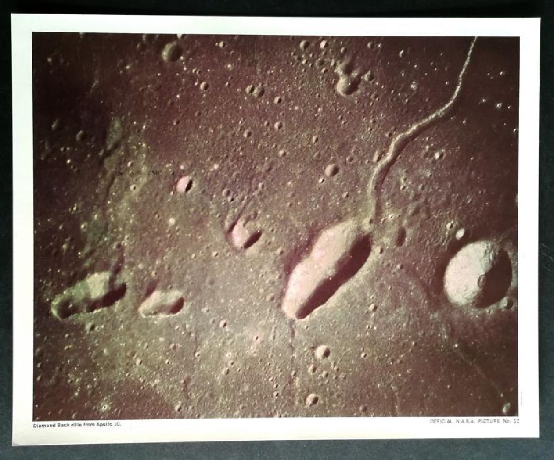 6x Official NASA - Apollo 8 / Apollo 9 / Apollo 10, - 6