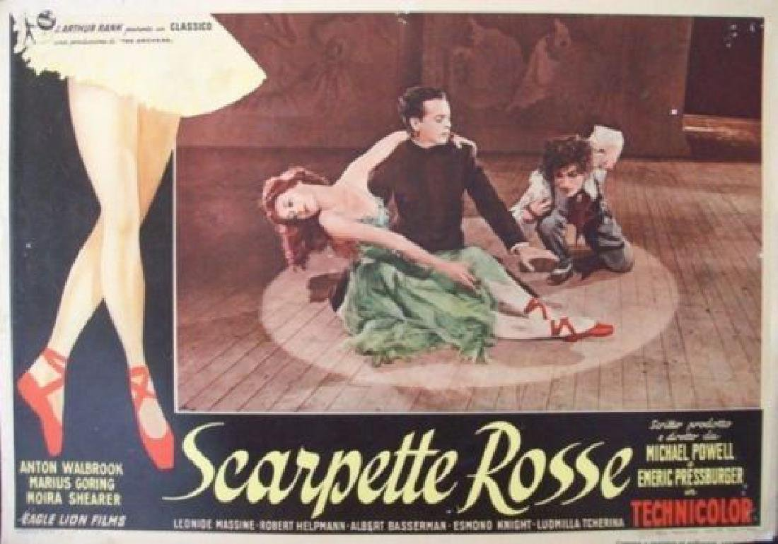 The Red Shoes - Scarpette Rosse fotobusta - Moira